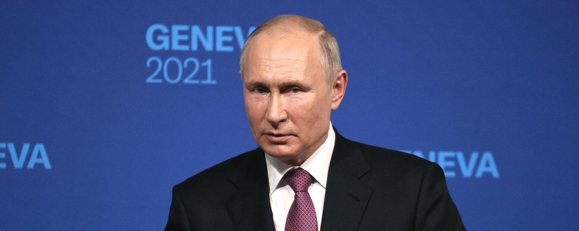 Встреча президентов России и США В. Путина и Дж. Байдена в Женеве - Sputnik Таджикистан, 1920, 17.06.2021
