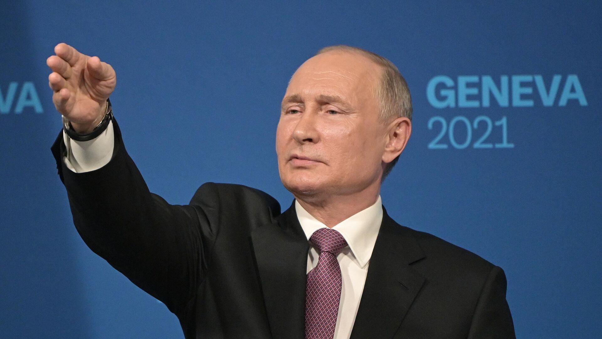 Встреча президентов России и США В. Путина и Дж. Байдена в Женеве - Sputnik Тоҷикистон, 1920, 26.08.2021