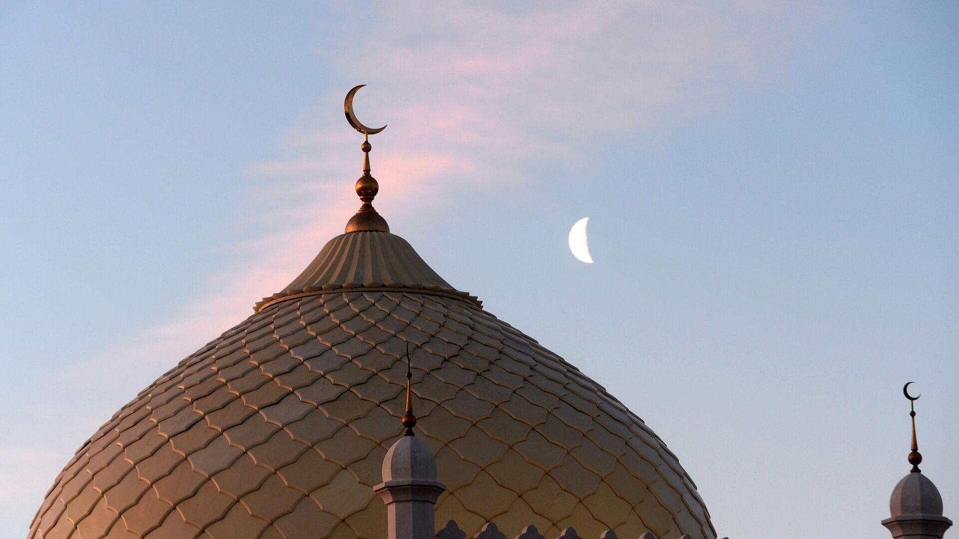 Соборная Ак-мечеть (Белая мечеть) , архивное фото - Sputnik Тоҷикистон, 1920, 01.10.2021
