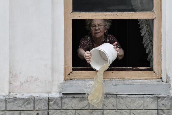 Подтопило 426 придомовых территорий. - Sputnik Таджикистан