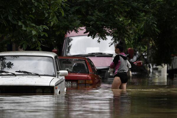 Полуостров рискует остаться без питьевой воды и канализации. - Sputnik Таджикистан