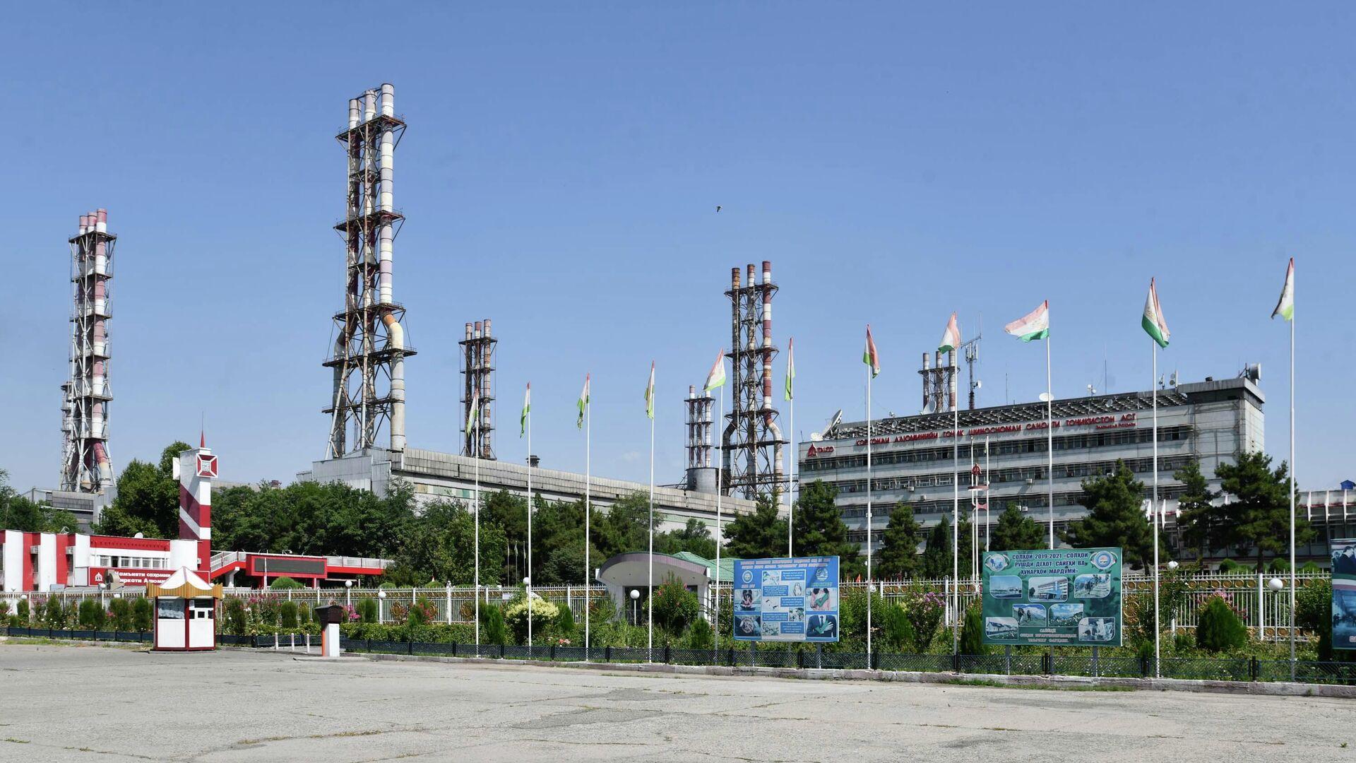 Таджикский алюминиевый завод Талко - Sputnik Таджикистан, 1920, 28.07.2021