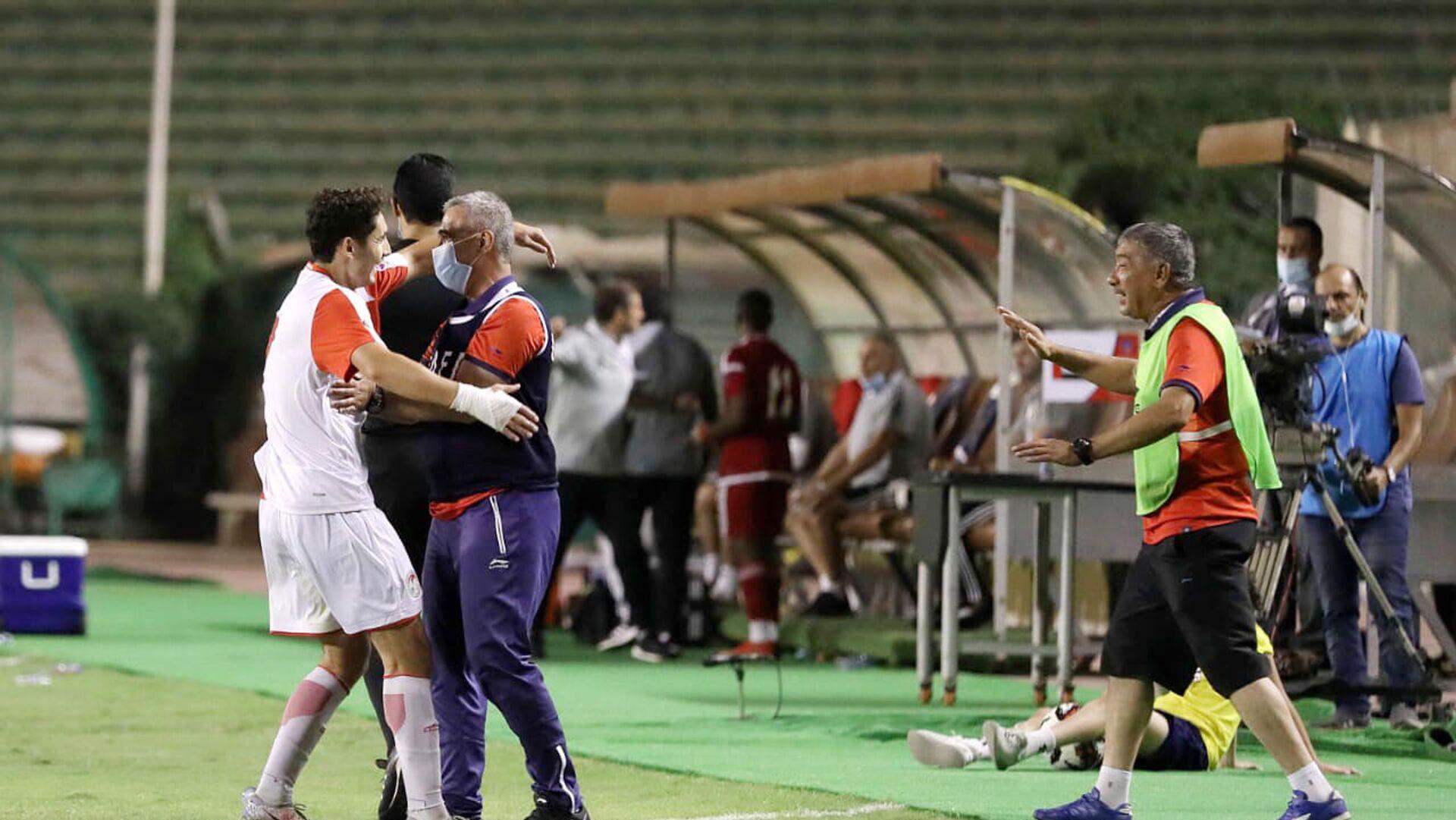Молодежная сборная Таджикистана (U-19) обыграла сверстников из ОАЭ на Кубке арабских наций-2021 в Египте - Sputnik Таджикистан, 1920, 24.06.2021