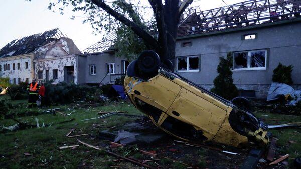 Торнадо в Чехии - Sputnik Тоҷикистон