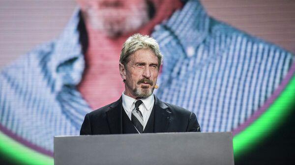 Американский программист Джон Макафи - Sputnik Таджикистан