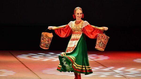Концерт по случаю Дней культуры России в Таджикистане - Sputnik Тоҷикистон