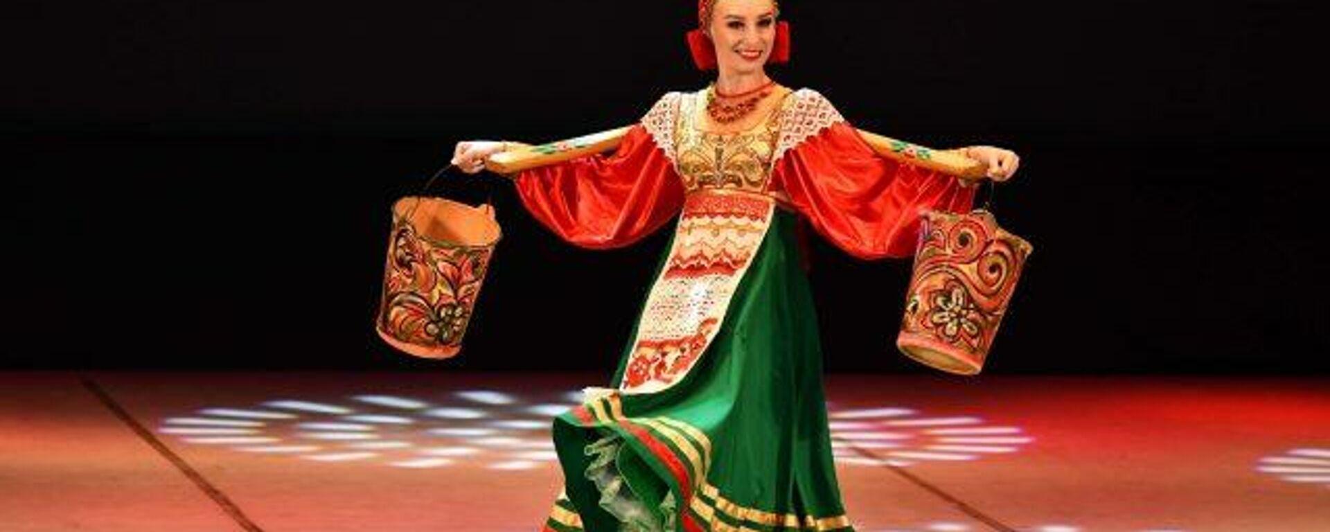 Концерт по случаю Дней культуры России в Таджикистане - Sputnik Таджикистан, 1920, 26.06.2021