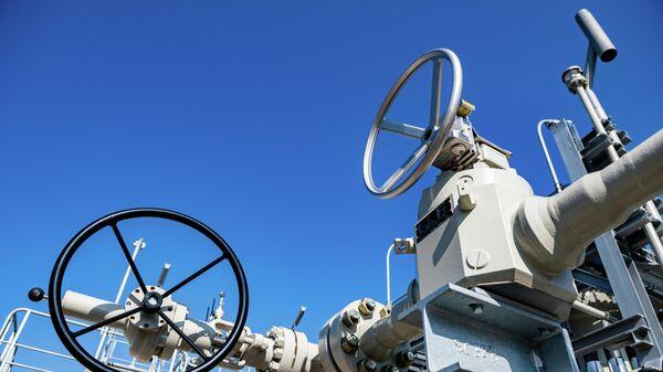 Береговые объекты на территории газораспределительного центра магистрального газопровода Северный поток-2  - Sputnik Таджикистан
