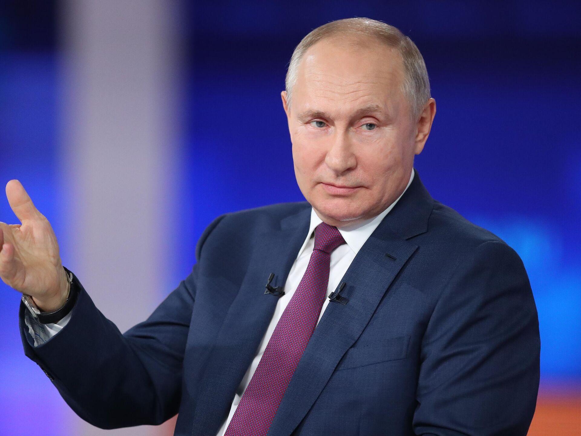 Фамилия Путина прервала выступление премьера