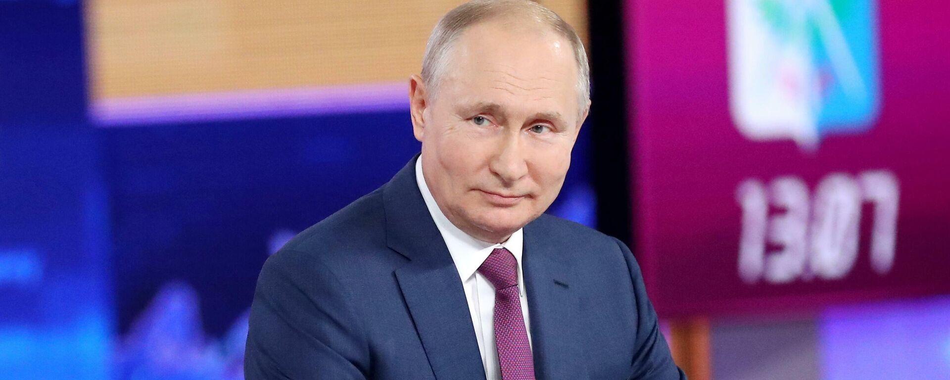 Прямая линия с Владимиром Путиным 30 июня 2021 года  - Sputnik Таджикистан, 1920, 30.06.2021