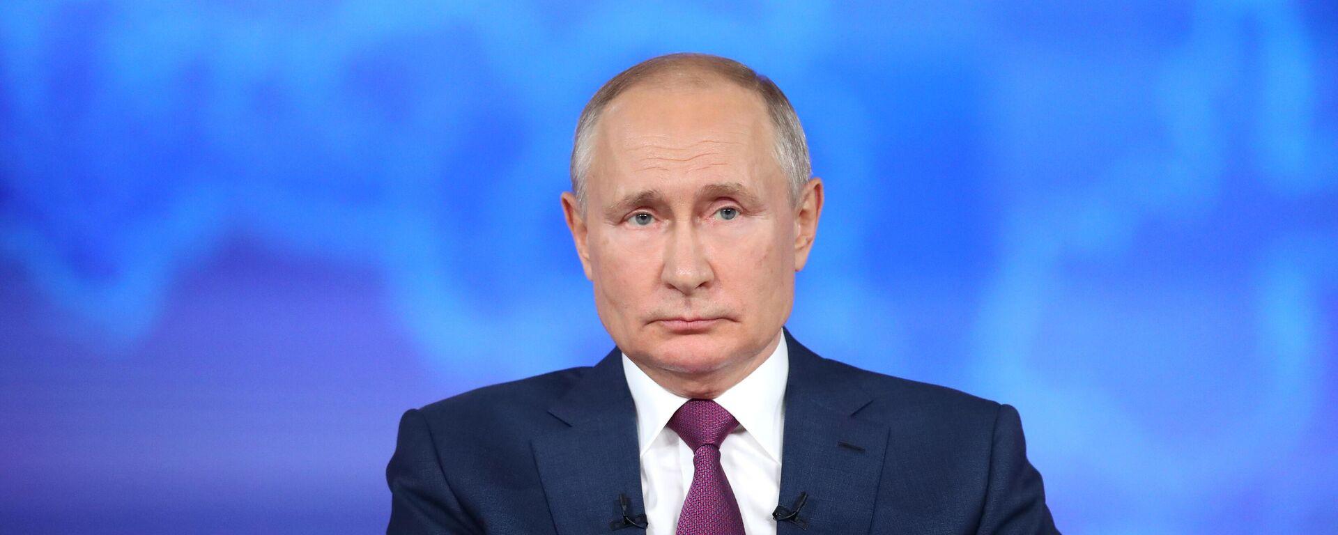 Президент РФ Владимир Путин - Sputnik Таджикистан, 1920, 20.08.2021