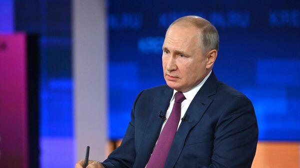 Путин сравнил отношение к русским на Украине с применением оружия массового поражения - Sputnik Таджикистан