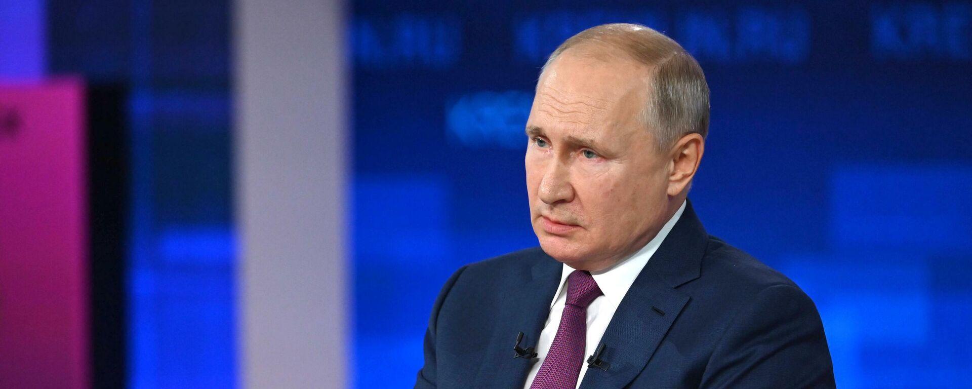 Путин сравнил отношение к русским на Украине с применением оружия массового поражения - Sputnik Таджикистан, 1920, 30.06.2021