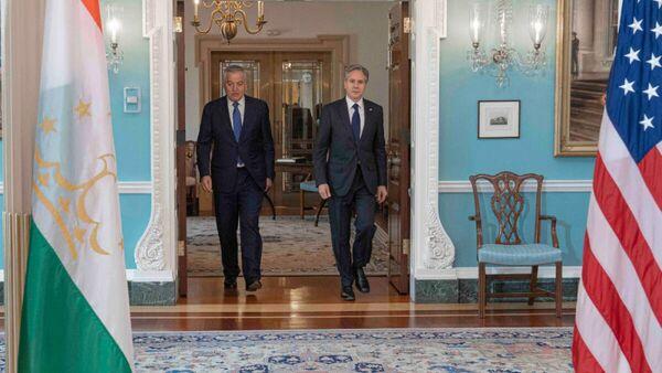 Встреча Министра иностранных дел Таджикистана с Государственным секретарем США - Sputnik Таджикистан