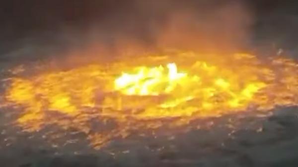 В Мексиканском заливе горит морской трубопровод компании Pemex - Sputnik Таджикистан
