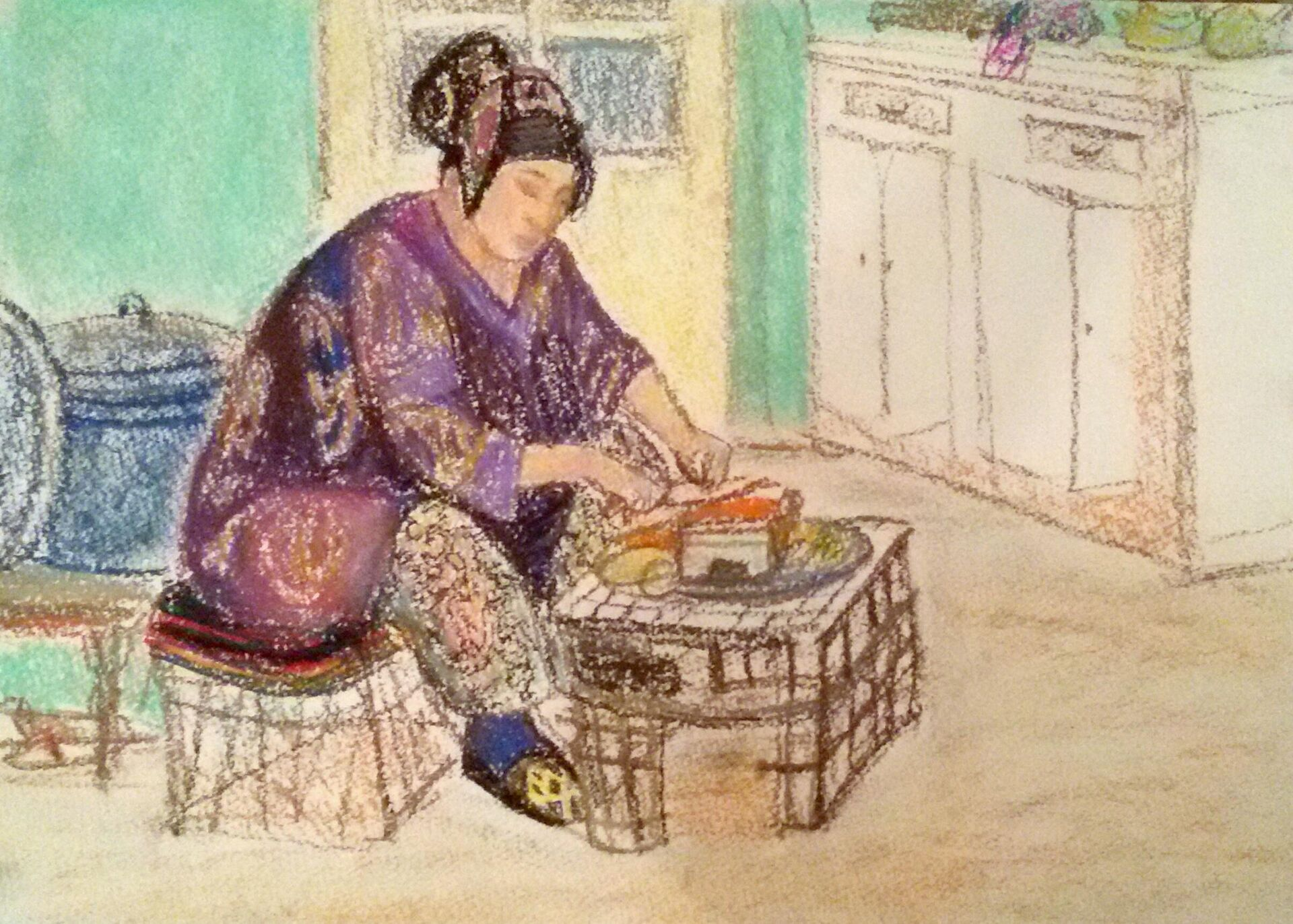 Картины художницы Полины Илюшкиной - Sputnik Таджикистан, 1920, 07.07.2021