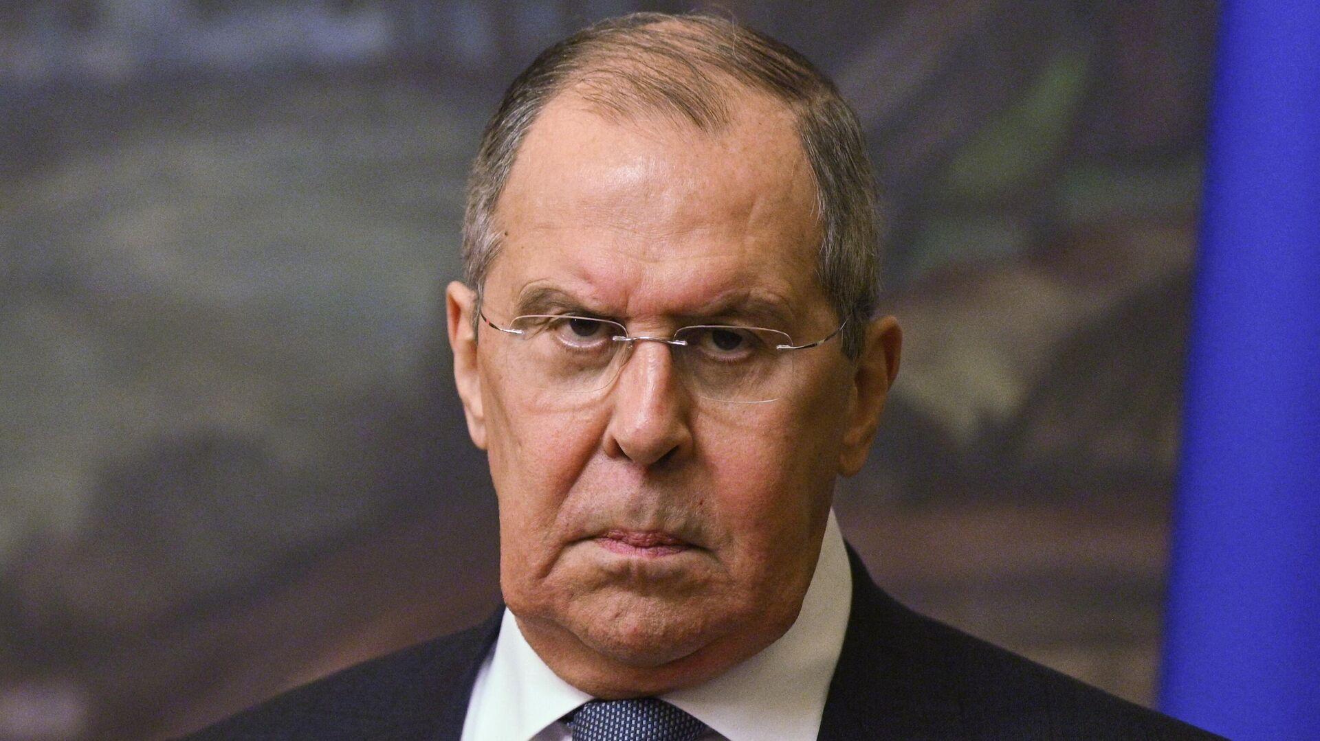 Министр иностранных дел РФ Сергей Лавров  - Sputnik Таджикистан, 1920, 23.07.2021