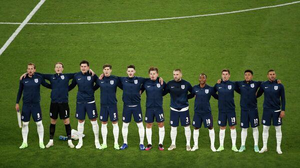 Игроки по футболу сборной Англии  - Sputnik Таджикистан