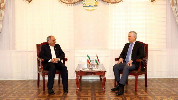 Посол Ирана встретился с зам министром иностранных дел РТ - Sputnik Тоҷикистон