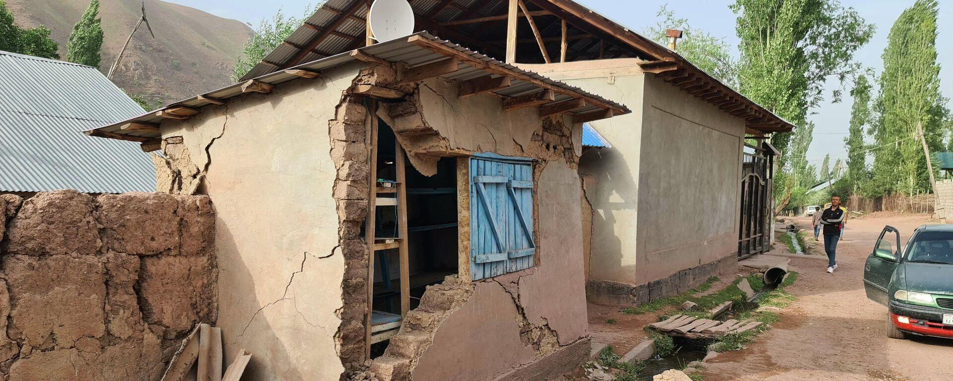 Последствия землетрясения в Лангари Шох - Sputnik Таджикистан, 1920, 11.07.2021