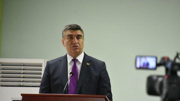 Директор Агентства по контролю за наркотиками Таджикистана генерал-майор юстиции Хабибулло Вохидзода  - Sputnik Тоҷикистон
