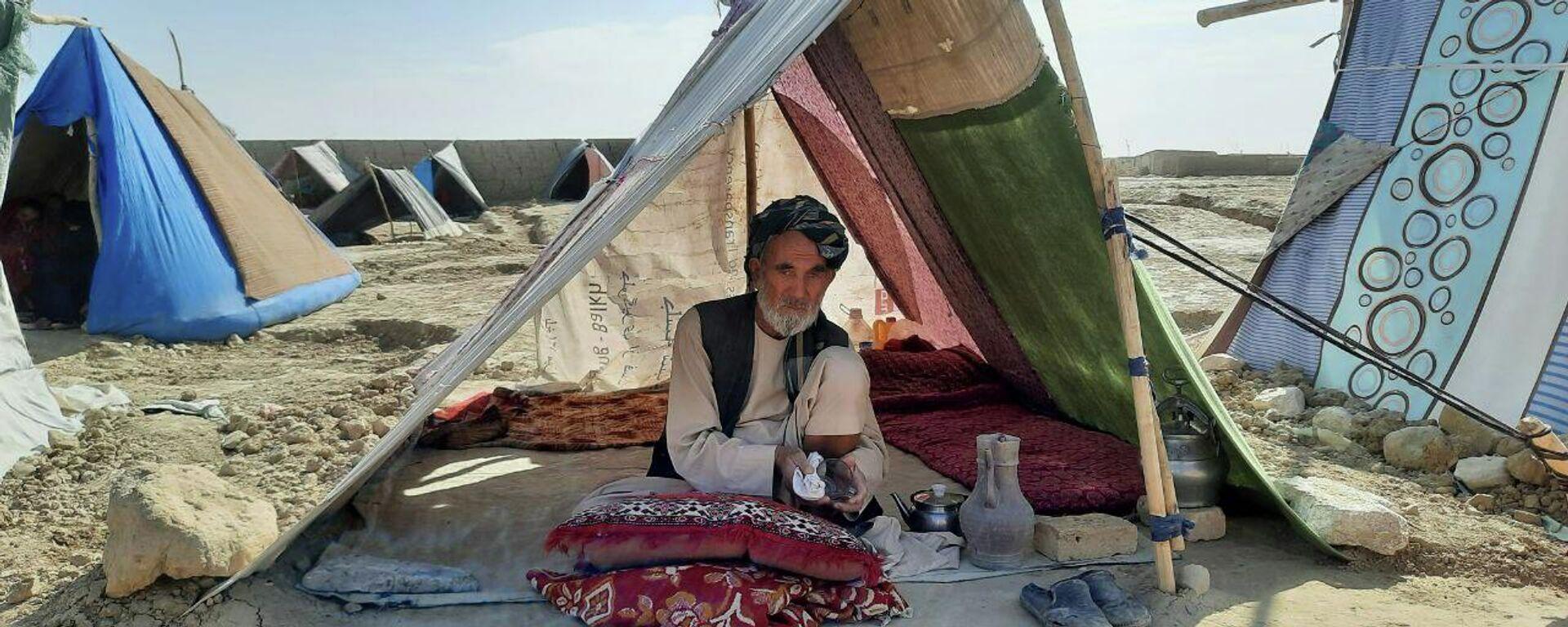 Лагерь беженцев в Мазари-Шарифе - Sputnik Таджикистан, 1920, 15.07.2021
