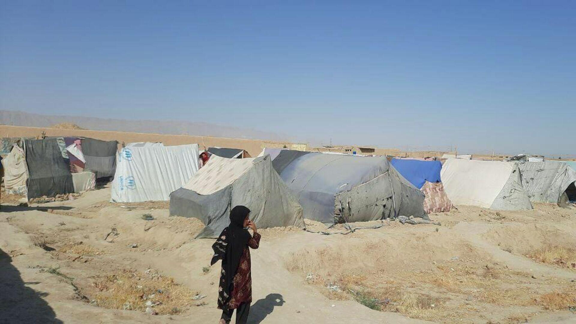 Лагерь беженцев в Мазари-Шарифе - Sputnik Таджикистан, 1920, 28.07.2021