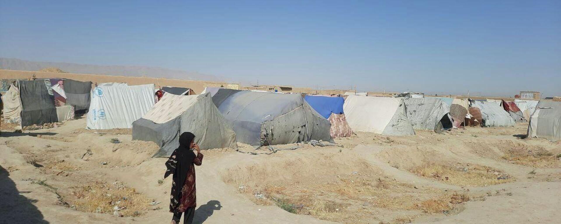 Лагерь беженцев в Мазари-Шарифе - Sputnik Таджикистан, 1920, 25.07.2021