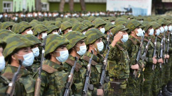 Военнослужащие армии Таджикистана - Sputnik Таджикистан