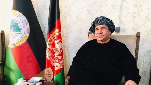 Низамуддин Кайсари , соратник маршалла Дустума, экс-лидер партии Национальное исламское движение (НИДА) - Sputnik Таджикистан