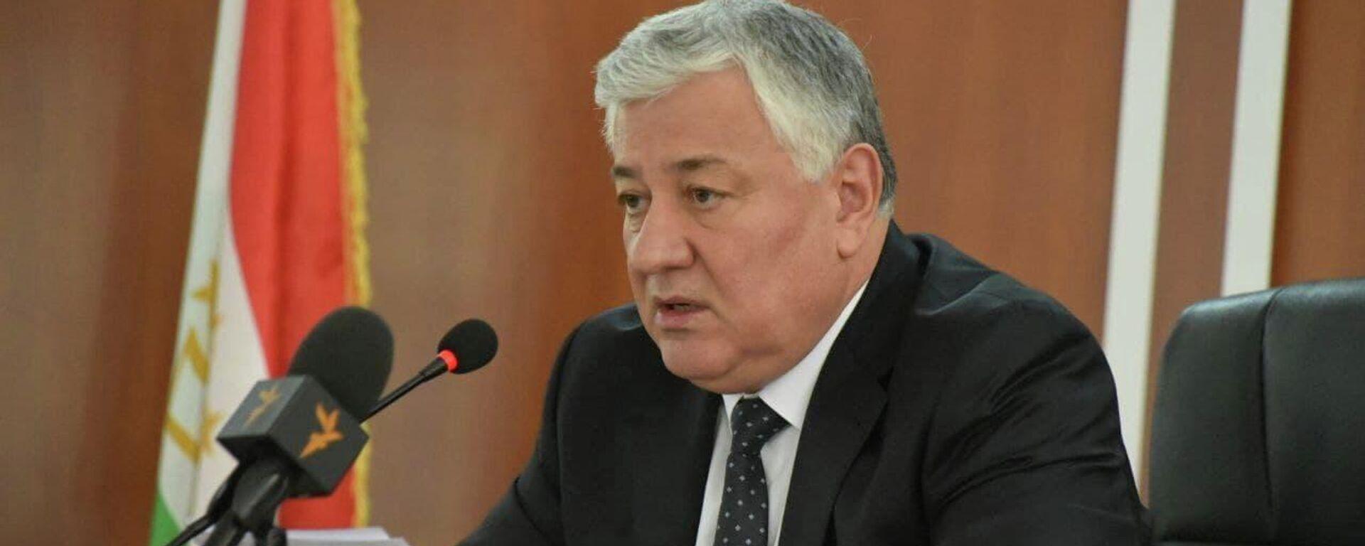 Председатель Верховного суда Шермухаммад Шохиён - Sputnik Таджикистан, 1920, 19.07.2021