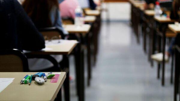 Студенты на занятии - Sputnik Таджикистан