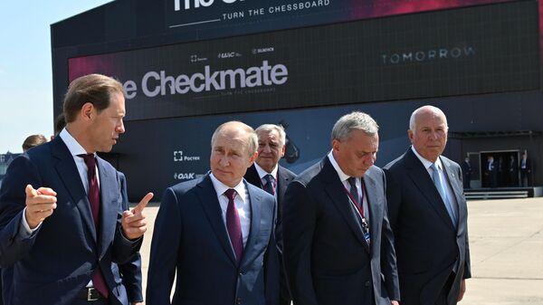 Президент РФ В. Путин принял участие в открытии МАКС-2021 - Sputnik Таджикистан