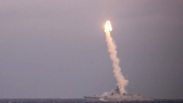 Фрегат Адмирал Горшков провел успешный пуск ракеты Циркон - Sputnik Таджикистан
