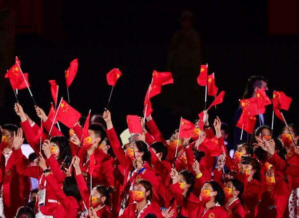 Спортсмены из Китая. - Sputnik Таджикистан
