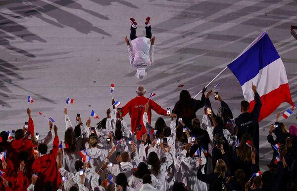 Команда Франции показала эффектное шоу. - Sputnik Таджикистан