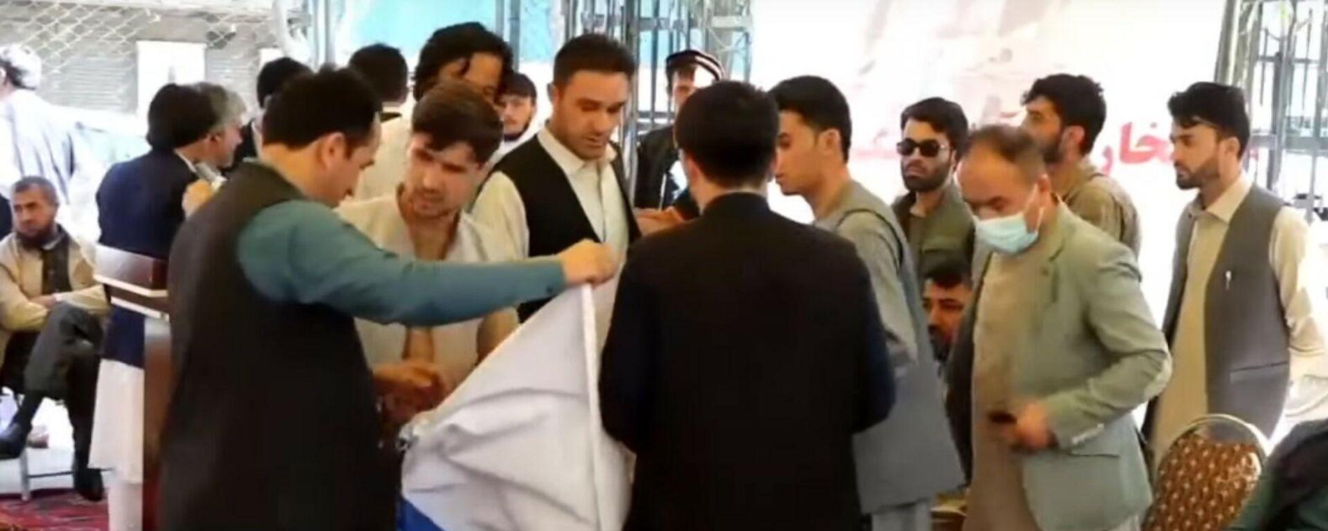 Жители Кабула вышли на митинг против талибов - Sputnik Тоҷикистон, 1920, 25.07.2021