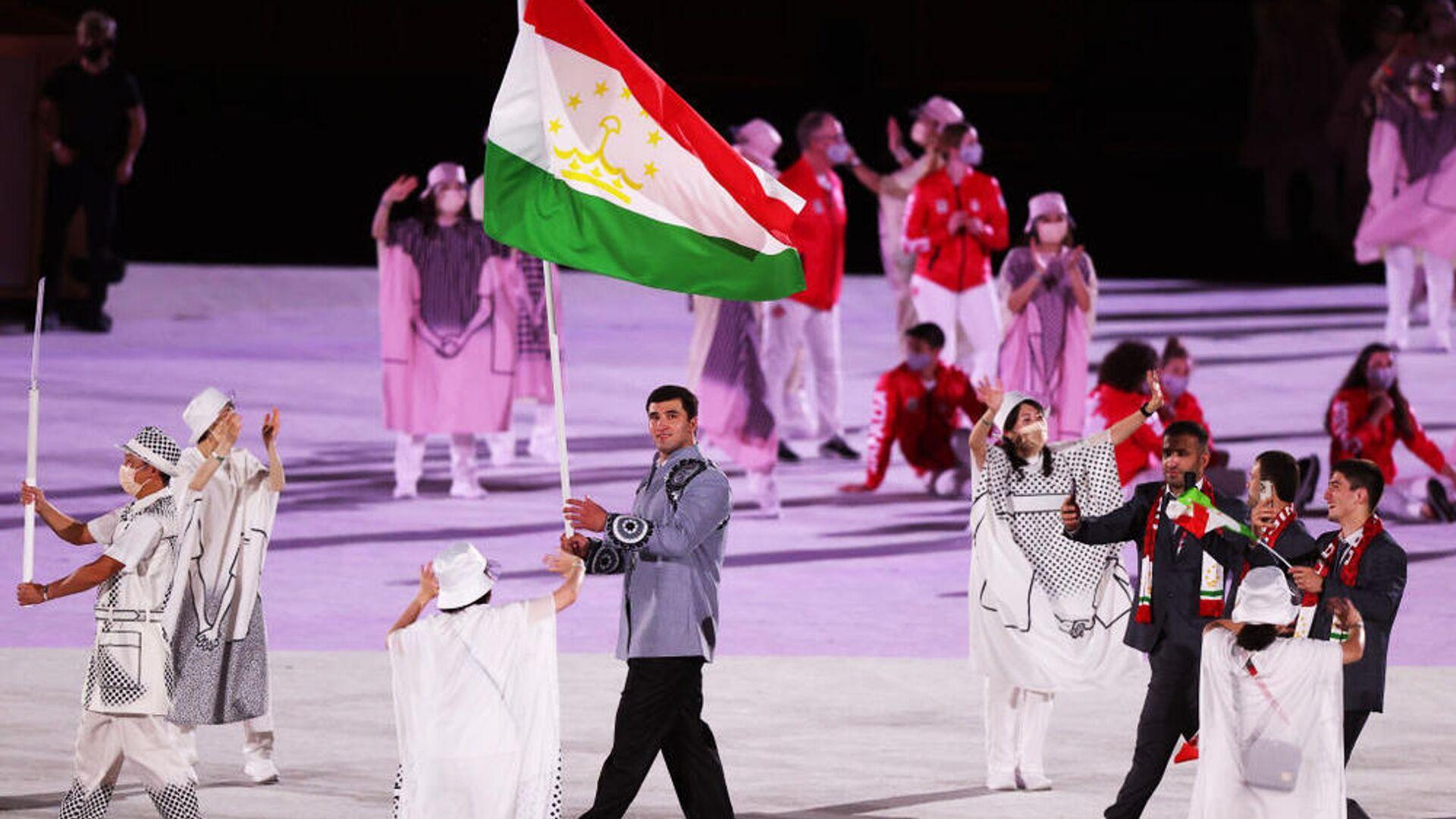 Сборная Таджикистана на в Олимпиаде в Токио 2020 - Sputnik Таджикистан, 1920, 31.07.2021