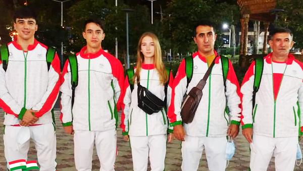 Олимпийская сборная Таджикистана - Sputnik Тоҷикистон