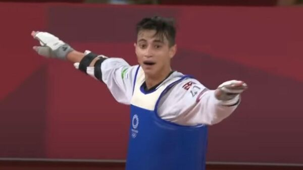 Узбекистанец Улугбек Рашитов завоевал золото на Олимпиаде 2020 в Токио - Sputnik Таджикистан