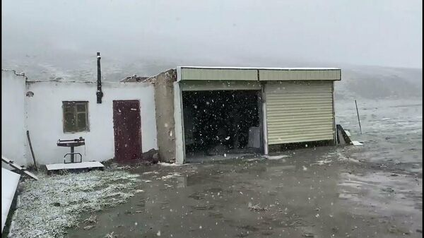 Снег в июле. Памир, Мургаб, Таджикистан - Sputnik Таджикистан