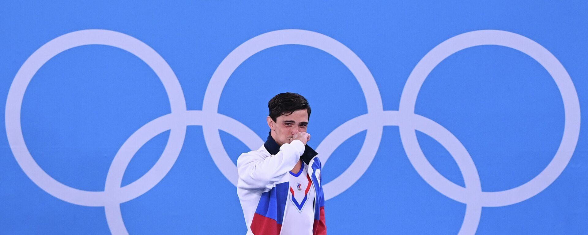 Олимпиада-2020. Спортивная гимнастика. Мужчины. Командное многоборье - Sputnik Таджикистан, 1920, 09.08.2021