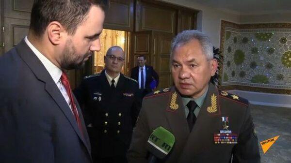 Шойгу рассказал о попытках Пентагона закрепиться в Центральной Азии - Sputnik Тоҷикистон