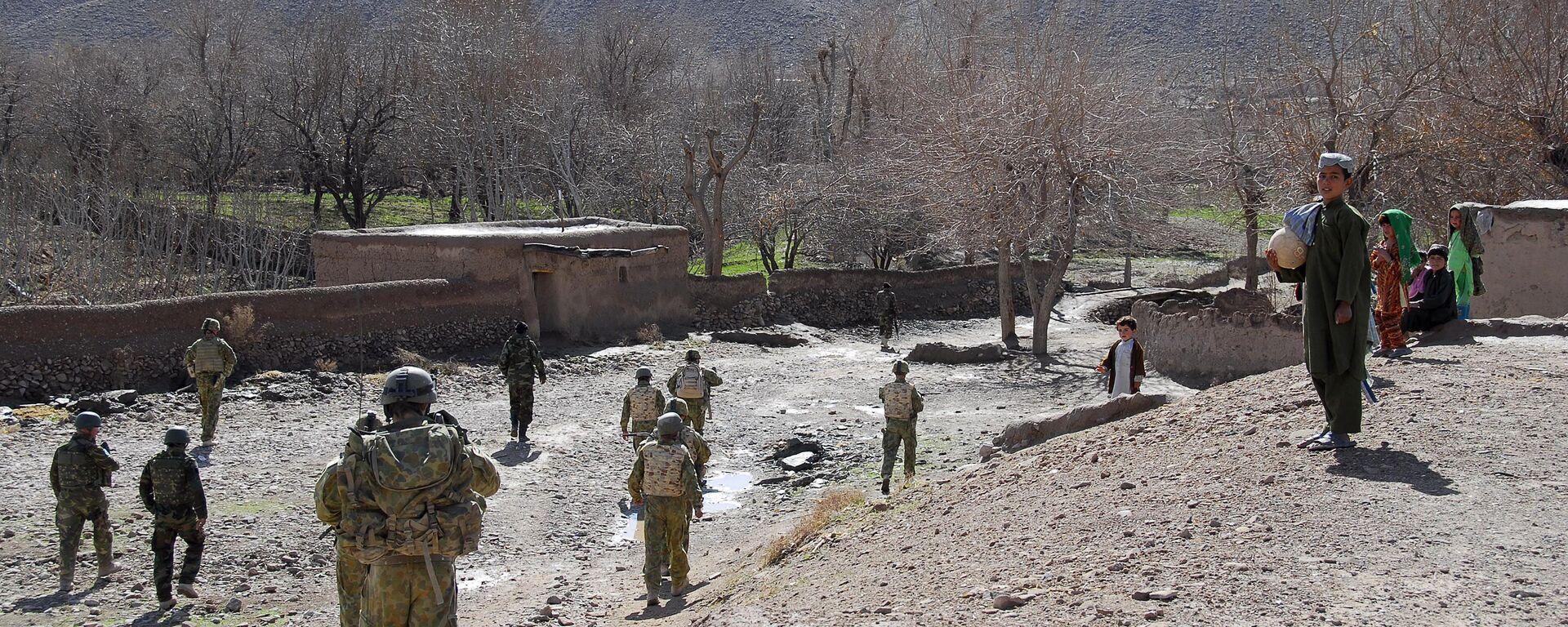 Австралийские солдаты в Афганистане  - Sputnik Таджикистан, 1920, 29.07.2021