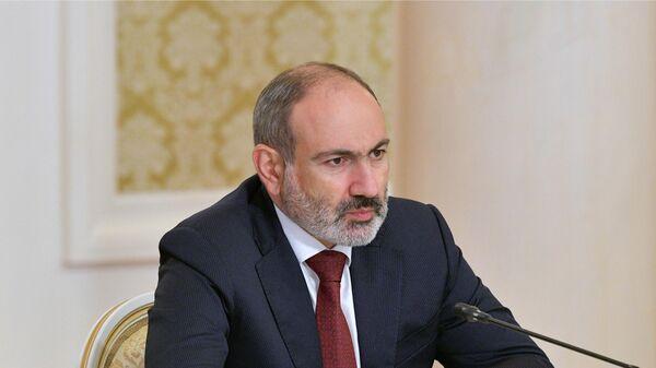 Исполняющий обязанности премьер-министра Армении Никол Пашинян - Sputnik Таджикистан