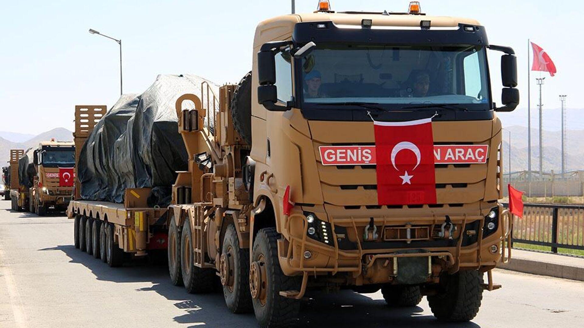 Турецкая армия прибыла на учения в Азербайджан  - Sputnik Таджикистан, 1920, 29.07.2021