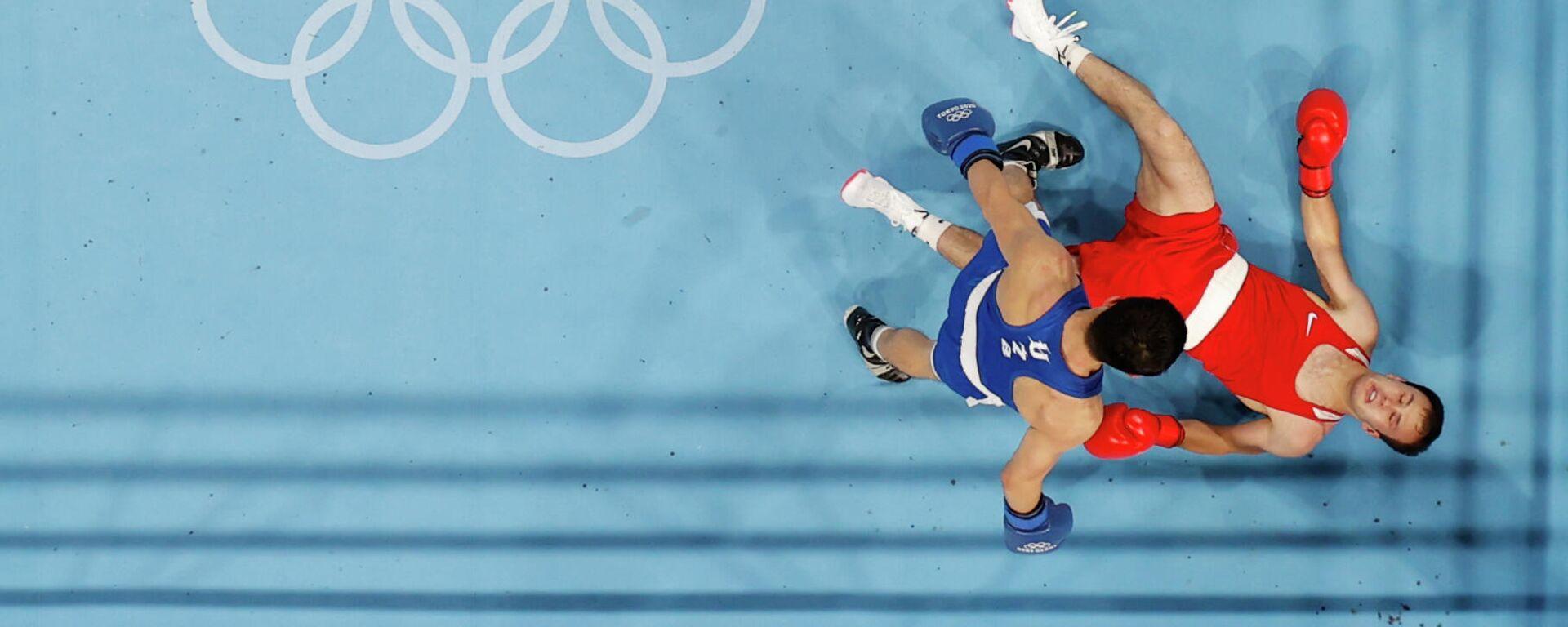 Таджикский спортсмен Баходур Усмонов на Олимпиаде в Токио - Sputnik Таджикистан, 1920, 31.07.2021