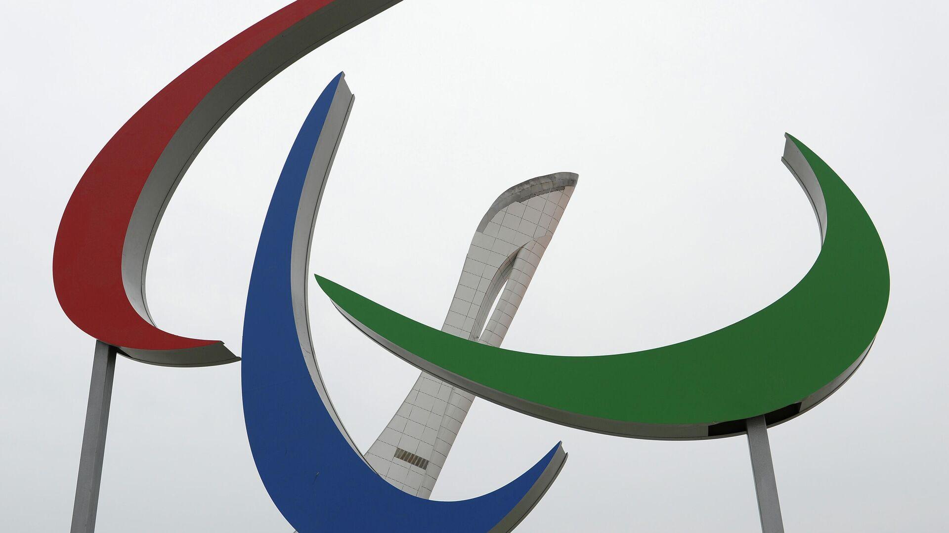 Символ Паралимпийских игр Агитос - Sputnik Таджикистан, 1920, 01.08.2021