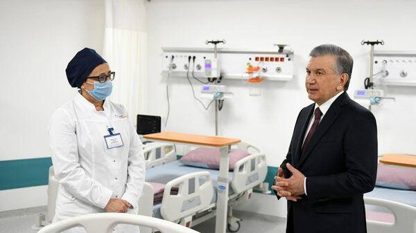 Шавкат Мирзиёев посетил современную клинику в городе Самарканде, архивное фото - Sputnik Таджикистан