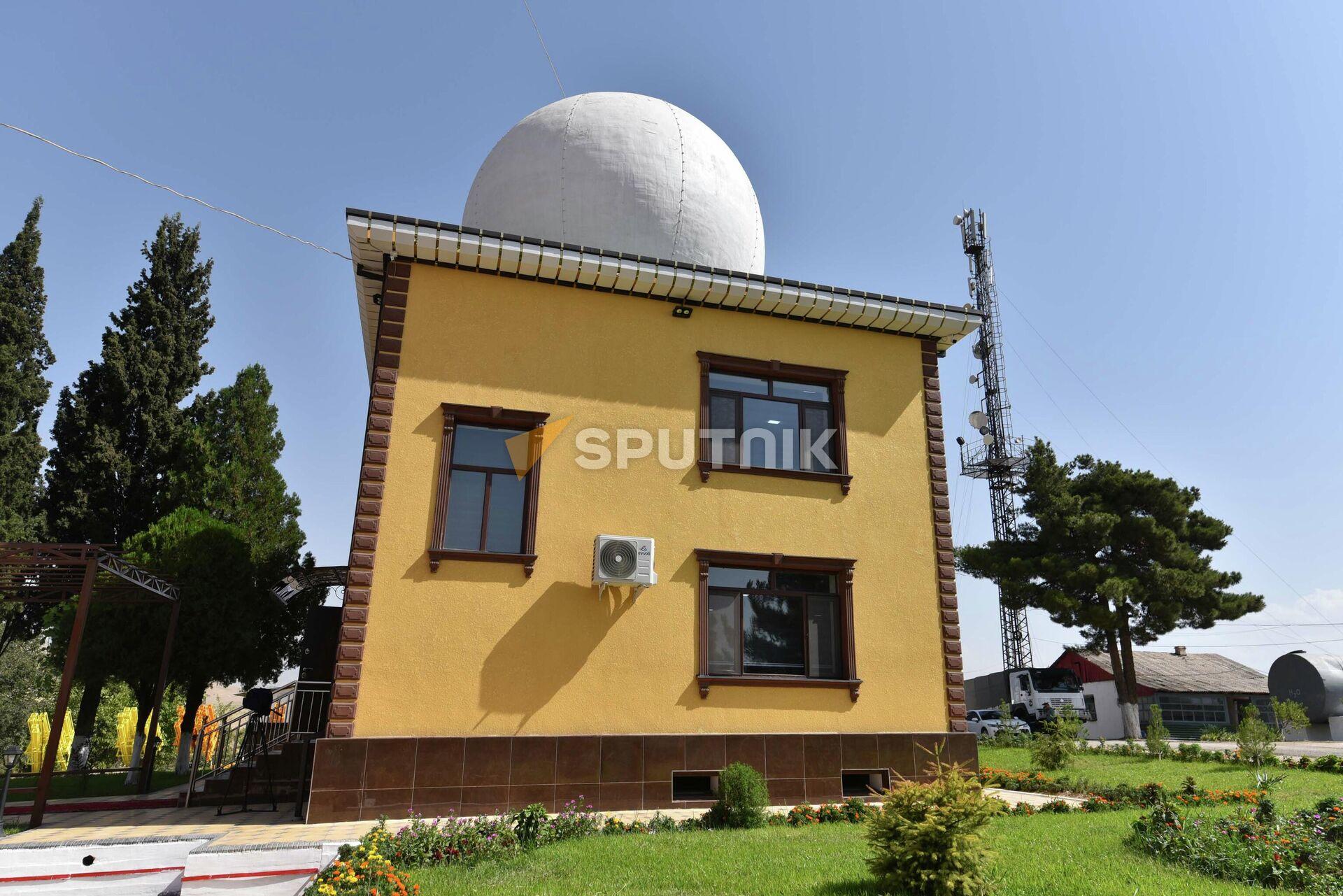Здание отдела противоградовой службы КЧС - Sputnik Таджикистан, 1920, 03.08.2021